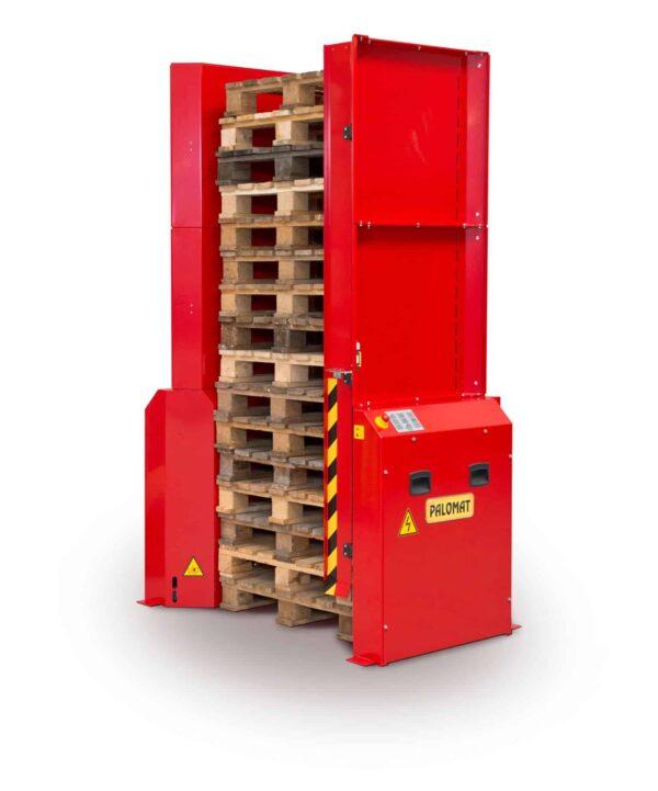 Dispenser pneumatic pentru 1 palet 800x600 mm - PALOMAT