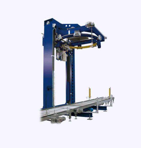 masina de infoliere automata a800/de ambalat cu folie pentru paleti a800
