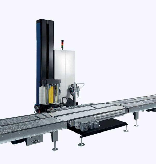 masina de infoliere automata p60/de ambalat cu folie pentru paleti p60