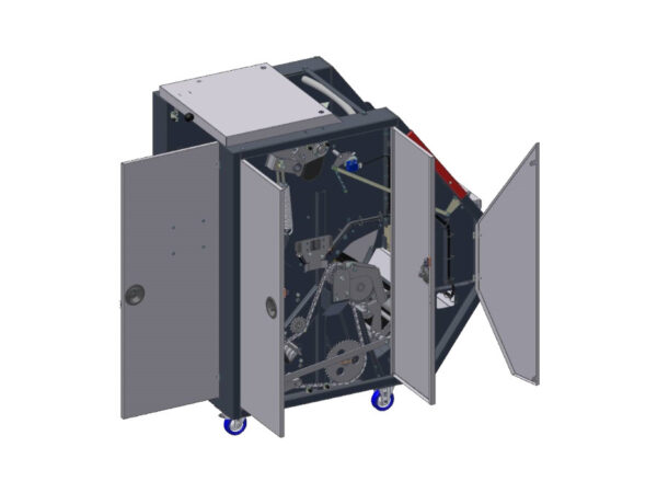 Compactor de deseuri in role CDR-LC display