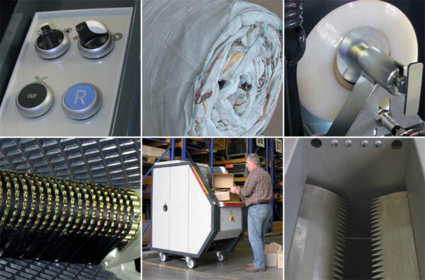 Compactor de deseuri in role CDR LED