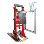 Masina verticala automata de legat cu banda