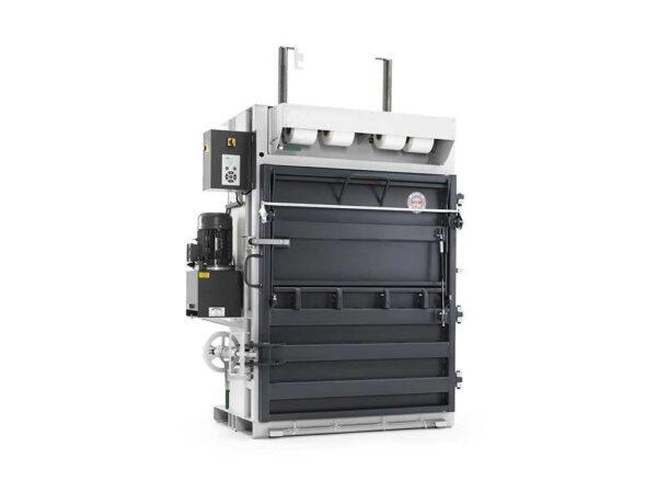 Presa verticala automata pentru deseuri