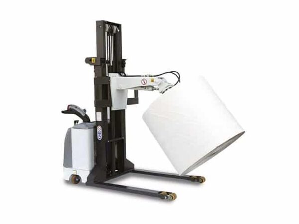 Automatic inverter with spindle for rolls (600 kg)