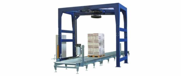 Automatic pallet wrapping machine B150