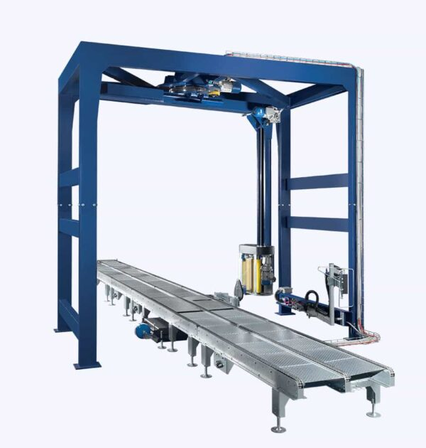 Automatic pallet wrapping machine B150-250