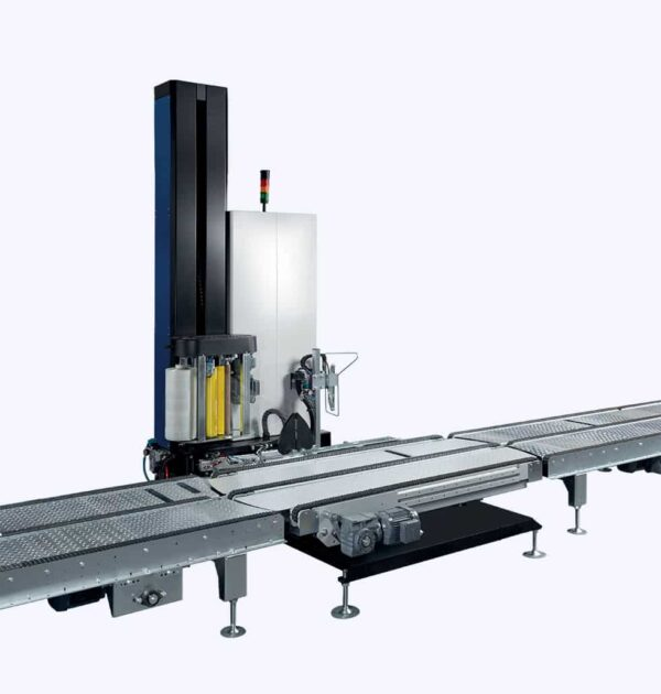 Automatic pallet wrapping machine P60