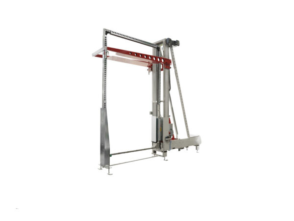 Automatic vertical strapping machine