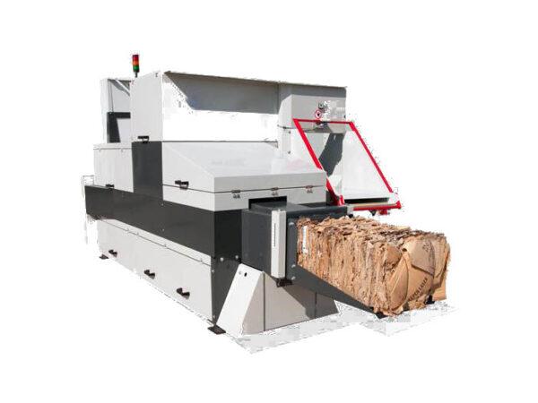 Horizontal baling press for waste POD 500