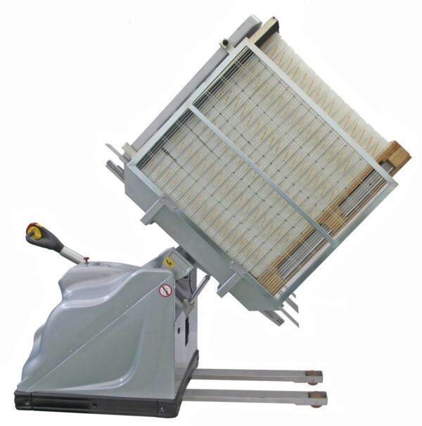 Mobile revolving inverter maxi for pallets,wb