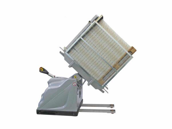 Mobile revolving inverter maxi for pallets
