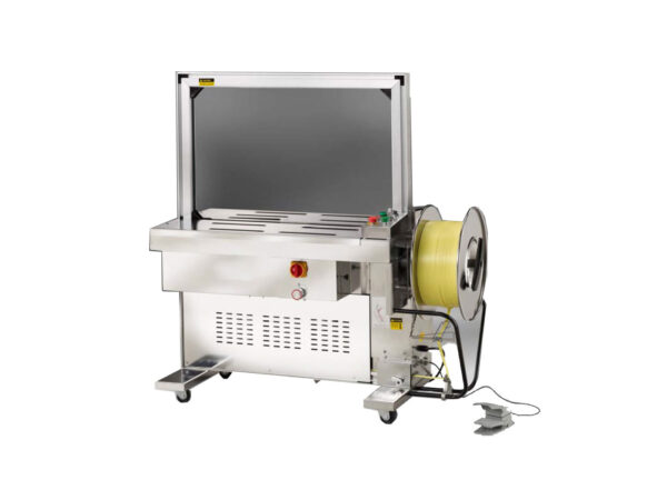 Semi-automatic stainless steel strapping machine