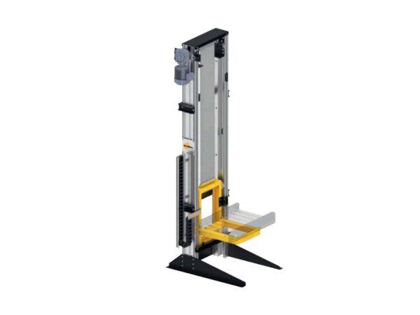 Vertical conveyor lift