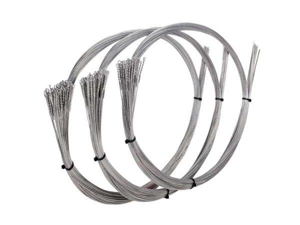 Waste baling wire