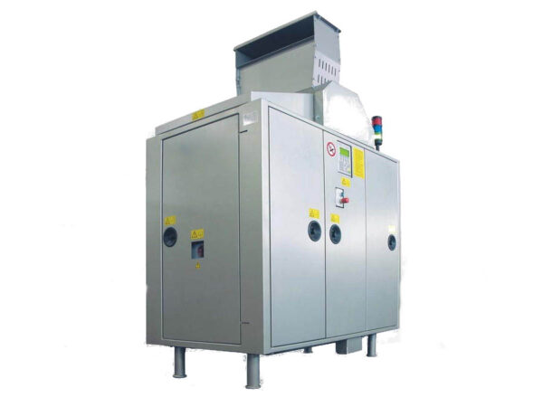 Waste roll compactor CDR-LC display