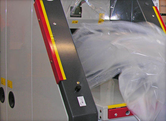 Waste roll compactor CDR-LED