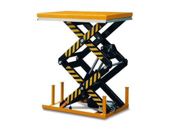 Double scissor lift table 520