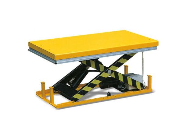 Single scissor lift table 186