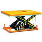 Single scissor lift table 235