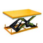 Single scissor lift table 405