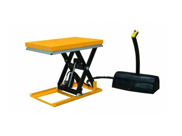 Small single scissor lift table 115