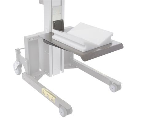 Stainless steel platform + V-cradle