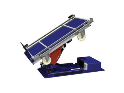 Armlift devices for tugger train