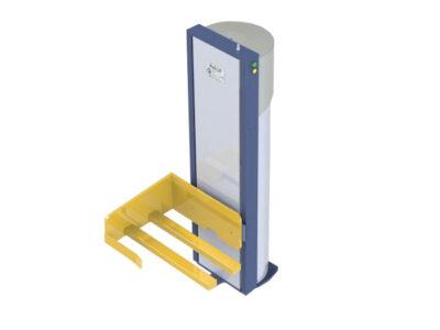 Pneumatic lifting device NM