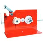 Handheld or bench dispenser for plastic self adhesive tape LMKFMPTD777.12