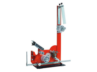 Bench dispensers for foam adhesive tapes with protective lining