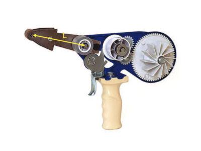 Distribuitoare manuale pentru bandă dublu adezivă, cu căptușeală de protecție