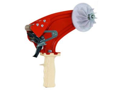 Handheld dispenser for high bond adhesive tapes