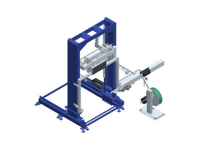Automatic strapping machines with PP, PET or metal