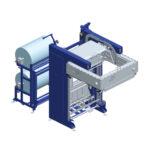 Automatic termoshrinking hooding machine SHR53