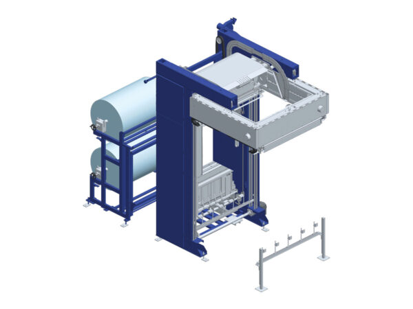 Automatic termoshrinking hooding machine SHR53 GLS