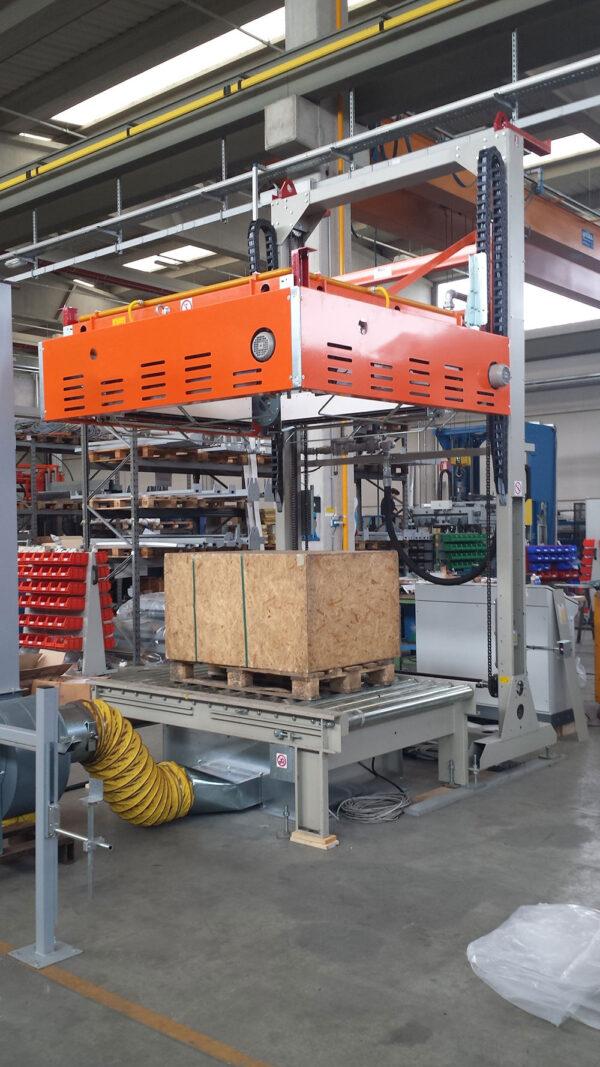 Cuptor automat cu folie termocontractibilă SHR55