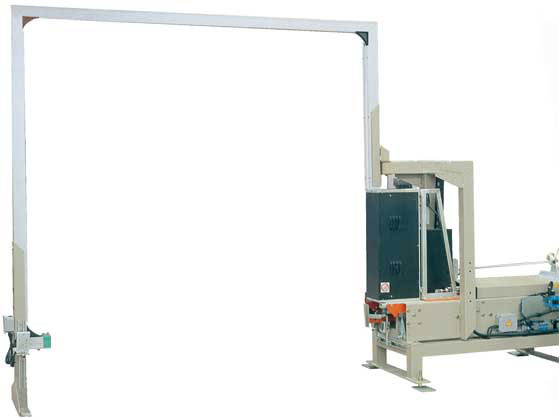 Lateral strapping machine LM 1530