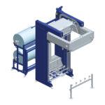 Maşina automată de ambalat cu folie termocontractibilă SHR53 GLS