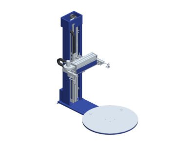 Semi-automatic shrink packing machines