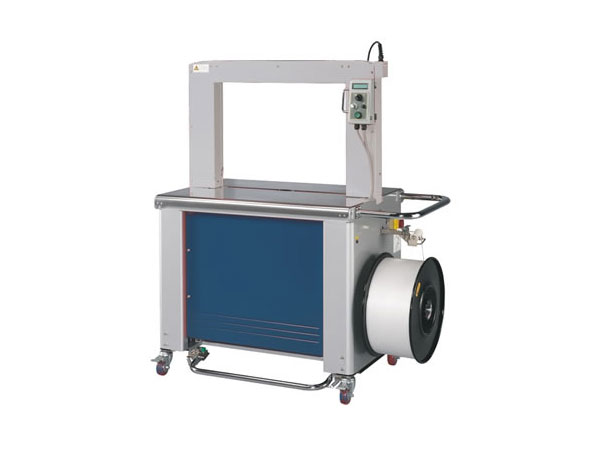 Semi-automatic strapping machine with PP and PET LM 320