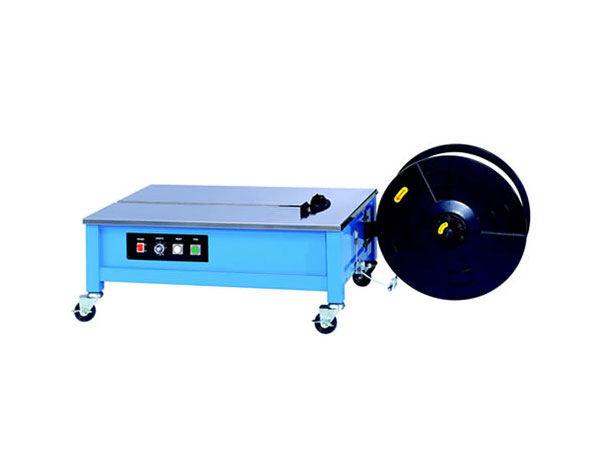 Semi-automatic strapping machine with PP and PET LM 333
