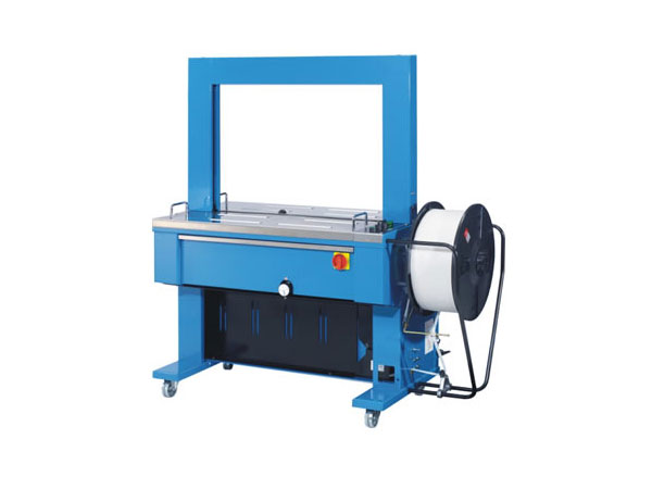 Semi-automatic strapping machine with PP and PET LM 5000 Blue