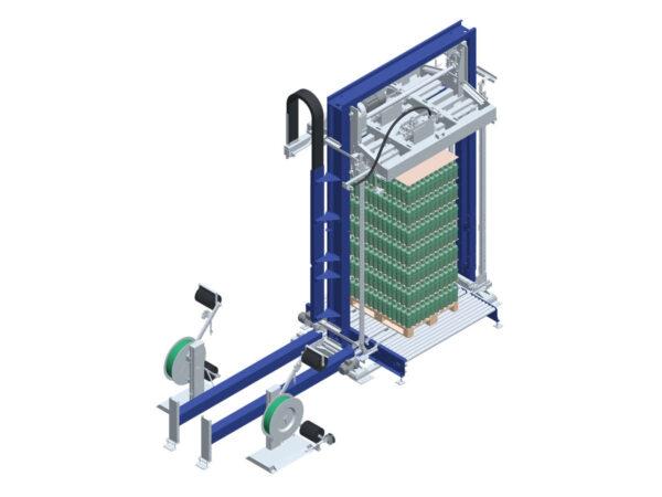 The vertical press machine model Press Master LM 01