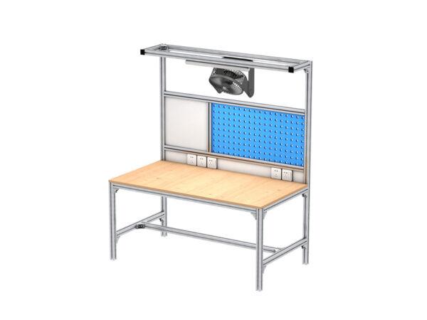 Square aluminum solution workbench