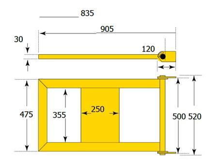 Door railing