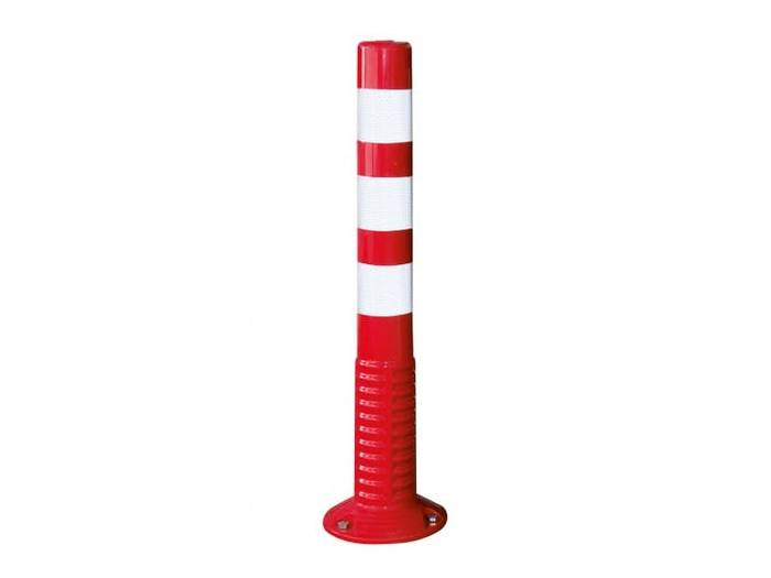 Red and white guide cylinder